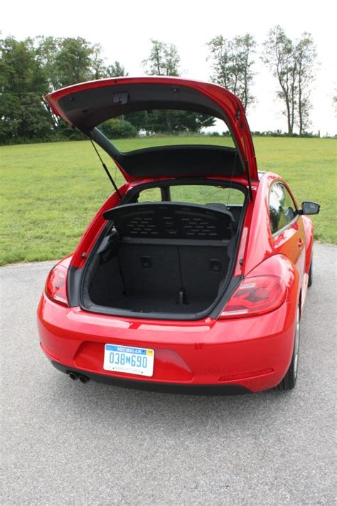 volkswagen beetle trunk vw beetle trunk space