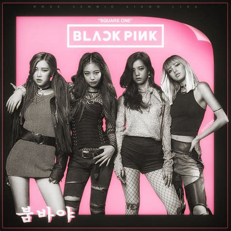 sketch album squared black soft cover black pink boombayah by diyeah9tee4 on deviantart