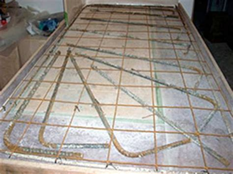 Concrete Countertop Reinforcement by Concrete Countertop Jeffrey Girard Decorative Concrete