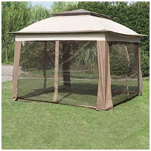 Big Lots Pop Up Canopy by Wilson Amp Fisher 174 11 X 11 Pop Up Canopy With Netting