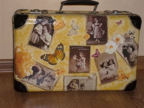 Pictures Of Decoupage - decoupage walizka by caracashi on deviantart