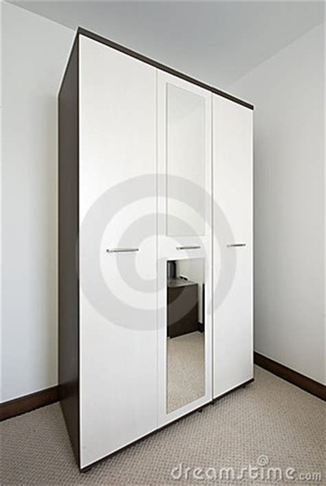 Big White Wardrobe Bedroom With A Big White Wardrobe Royalty Free Stock Image