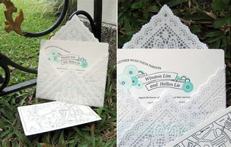 How To Make Paper Doily Envelopes - diy lace envelopes diy project wedding forums