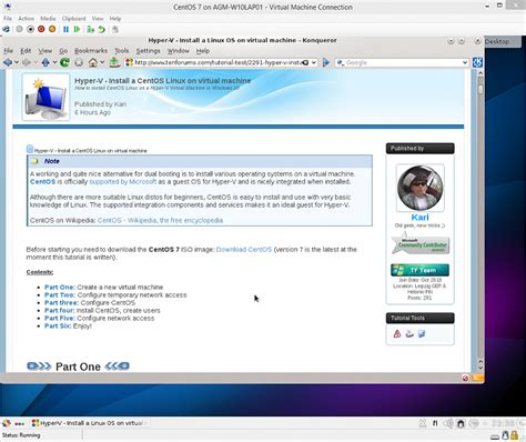 windows 10 hyper v tutorial hyper v vm install centos linux in windows 10 windows