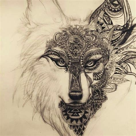 mandala animal tattoo tumblr the 25 best wolf tattoos ideas on pinterest forest