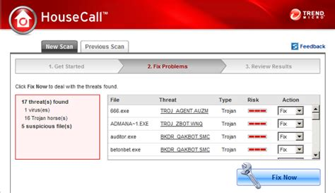 housecall trend trend micro housecall portable malware scanner linhost