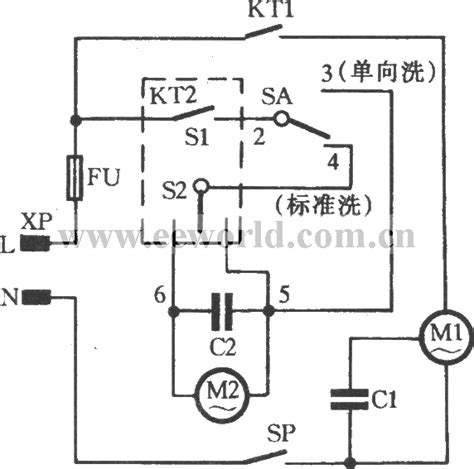 basic washing machine wiring diagram washing machine timer