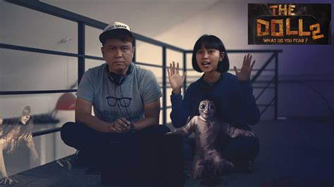 film the doll 2 indonesia video reaction trailer film the doll 2 layar id