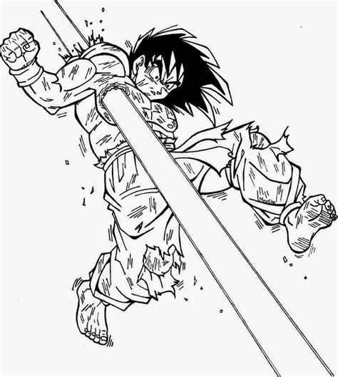 imagenes be goku dragon ball z para colorear goku fase 4 www pixshark com