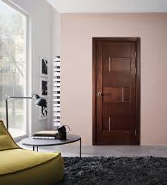 Home Doors Interior by Dominika Modern Interior Door Wenge Finish Modern