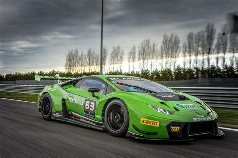Lamborghini Races Lamborghini Huracan Gt3 To Make American Gt3 Racing