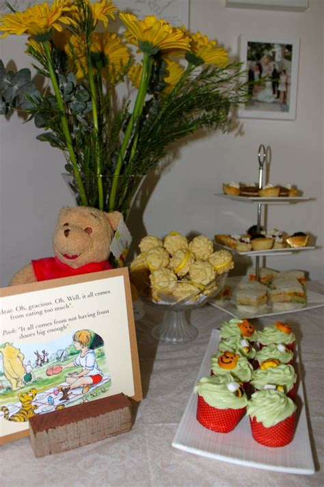Classic Winnie The Pooh Baby Shower Ideas by Classic Winnie The Pooh Baby Shower Quot High Tea Ideas