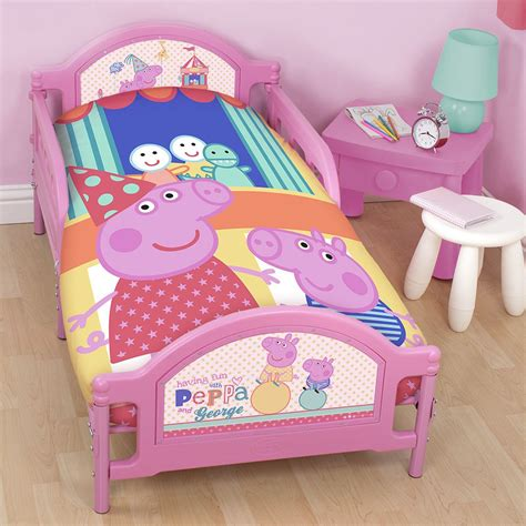 Peppa Pig Duvet Covers peppa pig george pig duvet quilt covers toddler