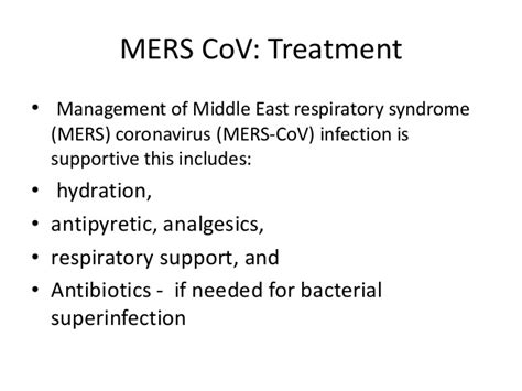 middle east respiratory syndrome mers