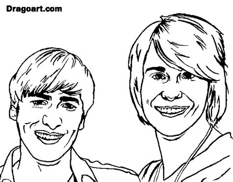 big time rush coloring pages to print coloring pages