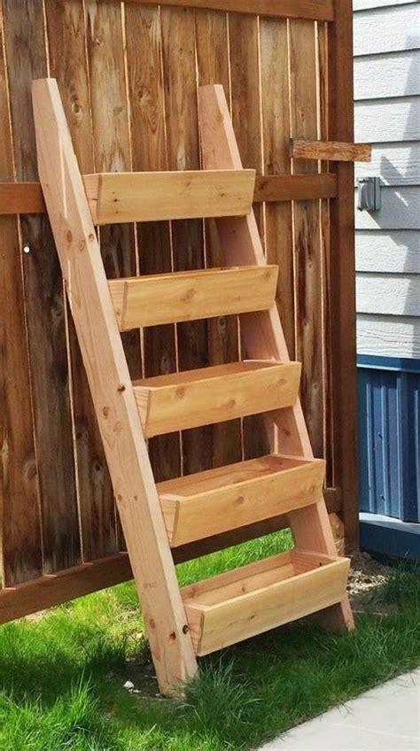 ana white herb garden planter 2 diy projects ana white build a cedar vertical tiered ladder garden