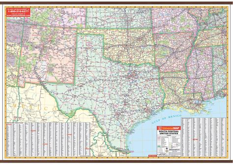 south central united states map us south central wall map kappa map
