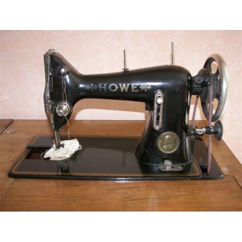 Meuble machine à coudre ancienne HOWE pas cher
