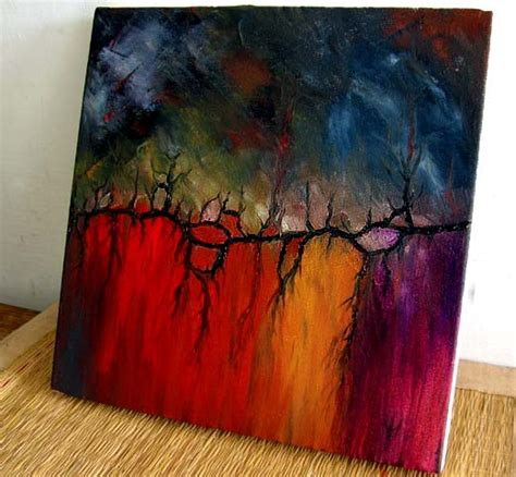 easy abstract canvas painting ideas the scented landscape abstract impressionist
