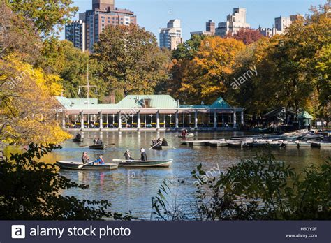 the boat house central park the loeb boathouse central park nyc stock photo royalty