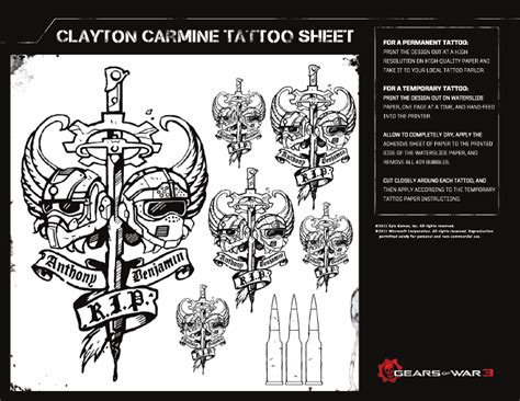 clayton carmine tattoo clayton carmine by cerberusx32 on deviantart