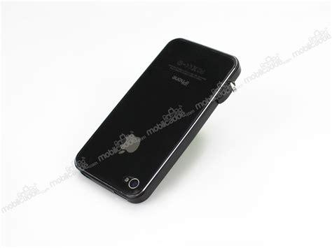 Metal Bumper Iphone 4 4s eiroo iphone 4 4s siyah metal bumper k箟l箟f mobilcadde