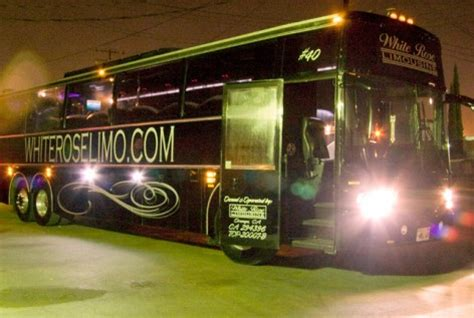 party bus outside party buses orange county ca
