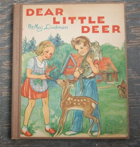 dear your nature is to bloom books 1953 dear deer children s book maj lindman animals