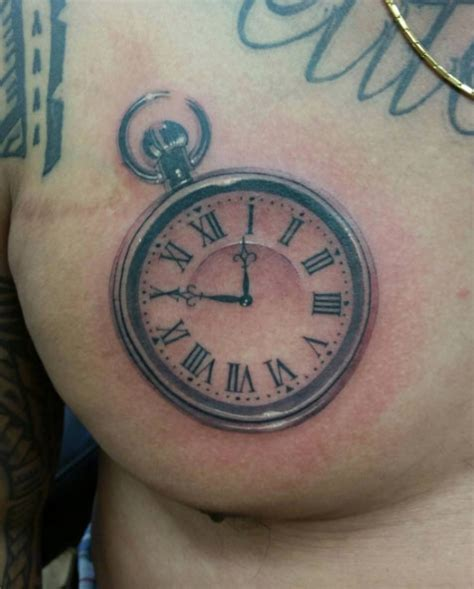 200 popular pocket watch tattoo amp meanings 2016