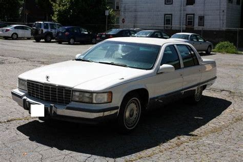 find used 1996 cadillac fleetwood brougham sedan 4 door 5 7l 1 owner excellent condition in find used 1996 cadillac fleetwood brougham sedan 4 door 5 7l in jamaica plain massachusetts