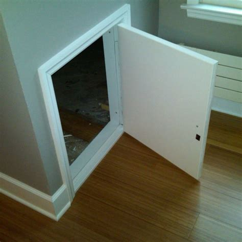 exterior crawl space access door 25 best ideas about attic access door on loft
