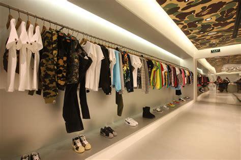 Japanese Style Interior bape store shanghai opening recap hypebeast