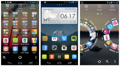 launchers for android free go launcher ex 4 17 apk free for amazing android display android apps
