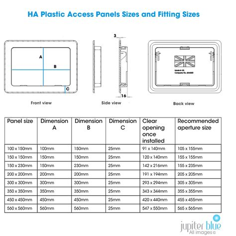 what is the dimensions of a full size bed plastic access panels 8 sizes