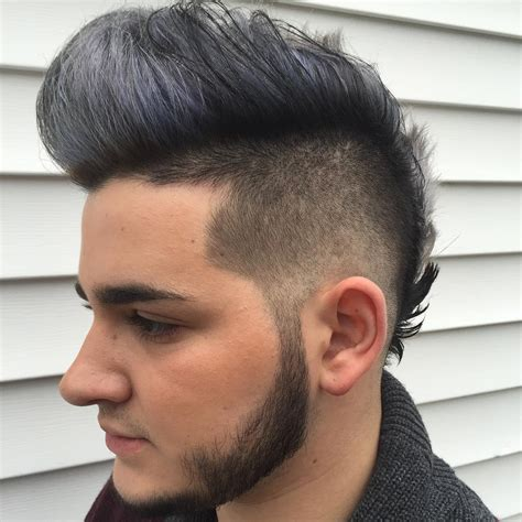 fohawk hairstyle the fauxhawk aka fohawk haircut