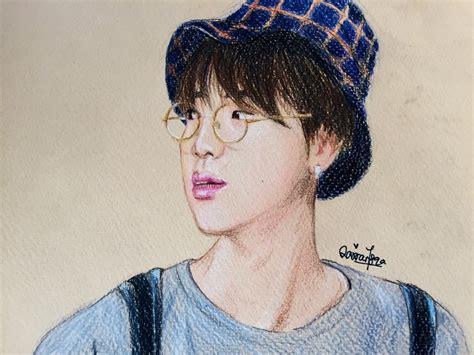 BTS Jin Fanart by jinblossoms on DeviantArt