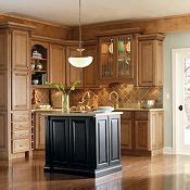 discount thomasville kitchen cabinets plaza maple palomino glaze with heirloom black paint