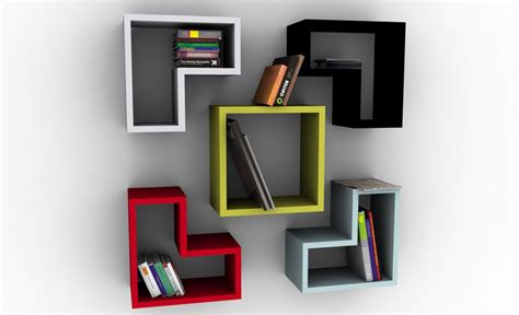 modern home design books 20 creative bookshelves modern and modular