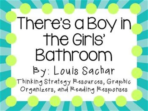 There S A Boy In The Girls Bathroom By Louis Sachar A There Is A Boy In The Bathroom