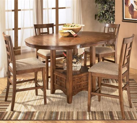 amazon counter height table counter height dining table amazoncom hayley brown