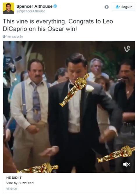 Leonardo Dicaprio No Oscar Meme - oscar 2016 vit 243 ria de leonardo dicaprio gera memes na