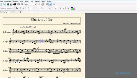 theme song chariots of fire chariots of fire theme song sheet music for trumpet youtube
