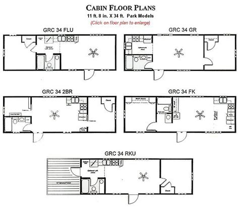 Skyline Rv Floor Plans by Derksen Deluxe Cabin Floorplans Joy Studio Design