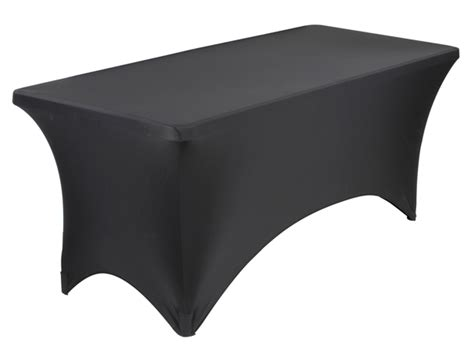 black stretch table covers black stretch 6 ft table cover specialty store services