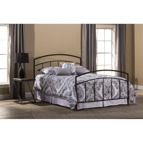 spindle bed king hillsdale julien king spindle bed in textured black 1169bkr