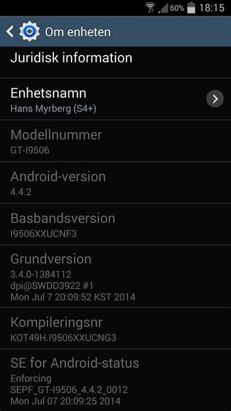 galaxy s4 lte a gt i9506 finally gets its kitkat update