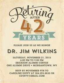 retirement celebration invitation template 25 best ideas about retirement invitations on