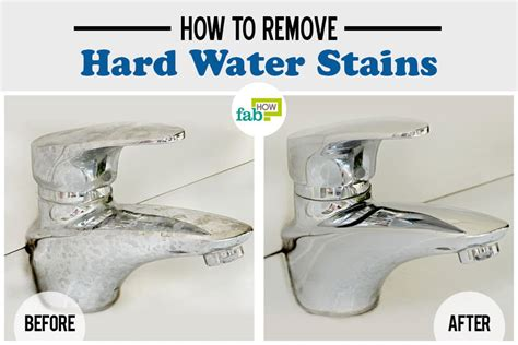 How To Remove Buildup From Shower by How To Remove Water Stains Fab How