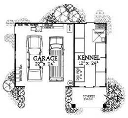 Kennel Floor Plans Garage Plans With A Kennel For Breeders Groomers And