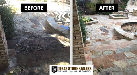 flagstone patio sealer before after pictures sealers project gallery